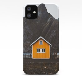 Yellow Cabin iPhone Case