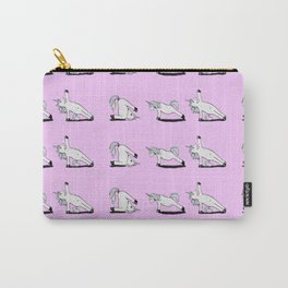 Unicorn Yoga Pattern Rose Carry-All Pouch