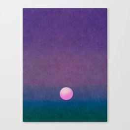 Gradient Sky #1 Canvas Print