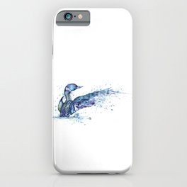 Loon - My Fathers Loon iPhone Case