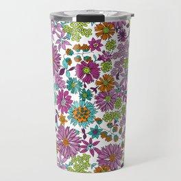 Ravel Floral Travel Mug