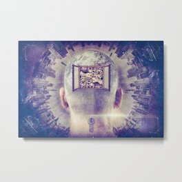 Master of Both Time and Space Metal Print