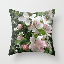 Simple Blossoms Throw Pillow