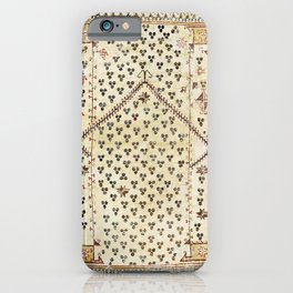 Selendi West Anatolia 16th Century Rug Print iPhone Case
