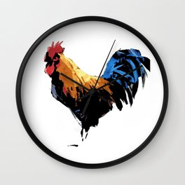 Rooster wall art decorative Wall Clock