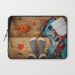 Her Autumn (Color) Laptop Sleeve