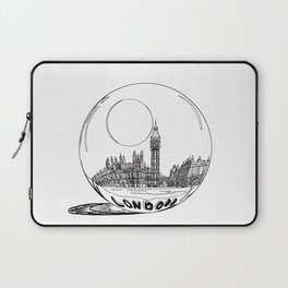 LONDON City in a Glass Ball Laptop Sleeve