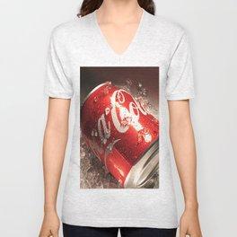 Coca Cola Unisex V-Neck