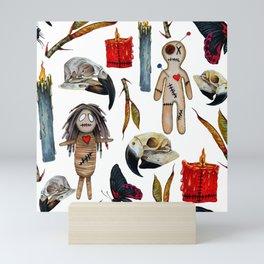 VoodoWitch Pattern #5 Mini Art Print