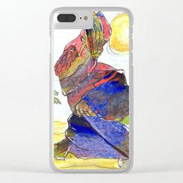 """""""Where have I left my camel ?"""" Clear iPhone Case"""