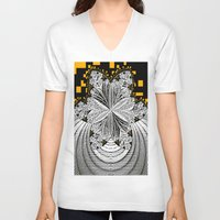 pixel art V-neck T-shirts featuring Pixel ART by LoRo  Art & Pictures