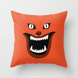 hausu Throw Pillow