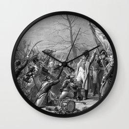 Napoleon Returns From Elba Wall Clock