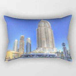 Dubai Architecture Rectangular Pillow