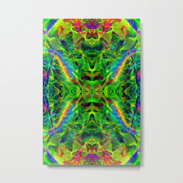 Techno Electric I Metal Print