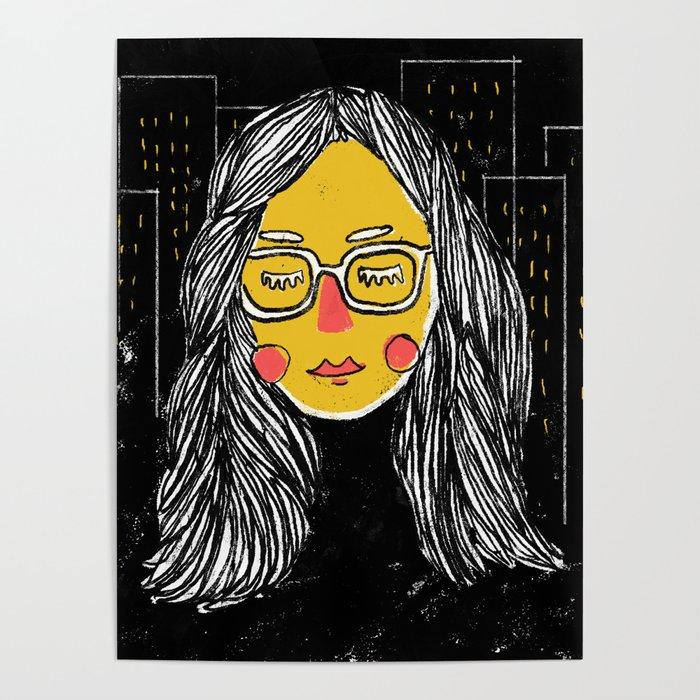 City Girl Megane Poster