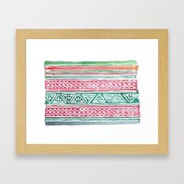 Tribal3 Framed Art Print