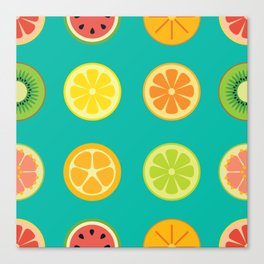 SLICE - grid Canvas Print