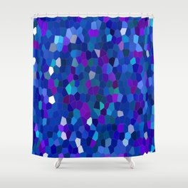 Geometrically mosaically speaking... Shower Curtain