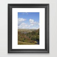 Craig Goch Dam III Framed Art Print