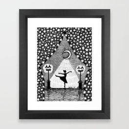 A Place in the Spotlight Framed Art Print