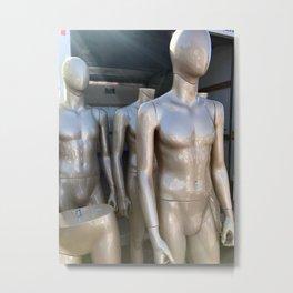 We Come in Piece(es) Metal Print