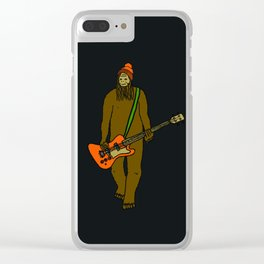 Flock of Gerrys Mr Big on Bass Clear iPhone Case