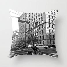5 AV New York Throw Pillow
