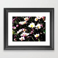 Pink Flowers (Edited)  Framed Art Print
