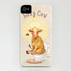 Holy Cow! iPhone (4, 4s) Slim Case