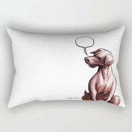 Talking Dogs Rectangular Pillow