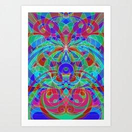 Ethnic Style G111 Art Print