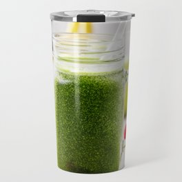 green smoothie Travel Mug