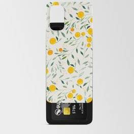 Oranges and Leaves Android Card Case