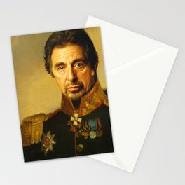 Al Pacino -replaceface Stationery Cards