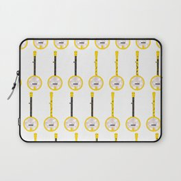 Banjo Blue Grass Funny Music Gift Laptop Sleeve