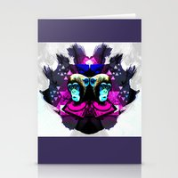 planet of the apes Stationery Cards featuring Crazy Apes by Jacob Overway