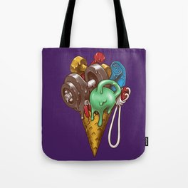 Ice Cream Workout Tote Bag