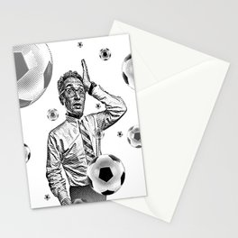 Obsessed Soccer Fan Stationery Cards