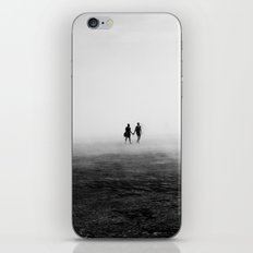 Everyone Else Disappears iPhone & iPod Skin