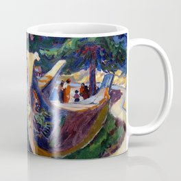 Emily Carr First Nations War Canoes in Alert Bay Coffee Mug