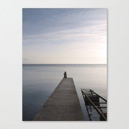 Mermaid at Sunset - Landscape Photography Canvas Print