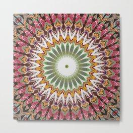 New Color Pyramidal Mandala 33 Metal Print