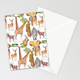 Wild Africa #4 Stationery Cards