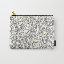 Enokitake Mushrooms (pattern) Carry-All Pouch