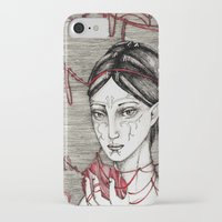 dragon ball iPhone & iPod Cases featuring Merrill: ball of twine  by Anca Chelaru