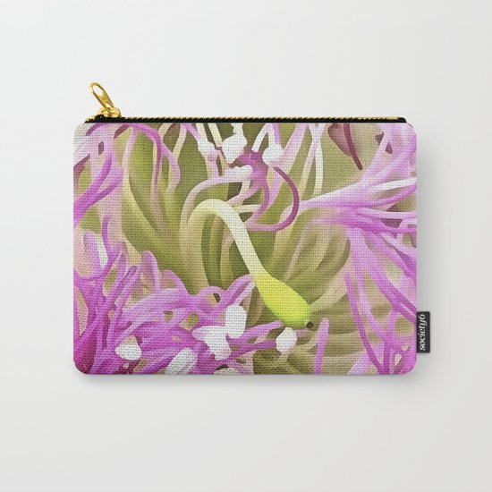 Caper Flower Blossom Carry-All Pouch