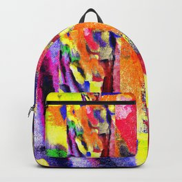 Abstract Poster Backpack