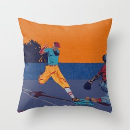 Let Me Be Bunt Throw Pillow