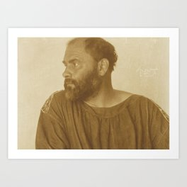Gustav Klimt Vintage Portrait Photo Art Print